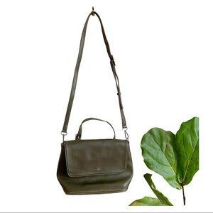Matt & Nat Vegan Crossbody Bag Green Purse